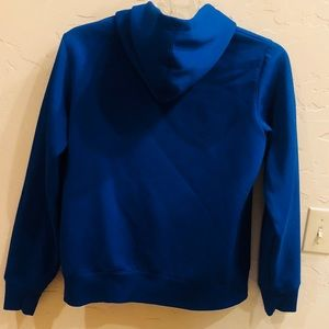 Under Armour Tops - Bright Blue Under Armour Ladies Large Hoodie